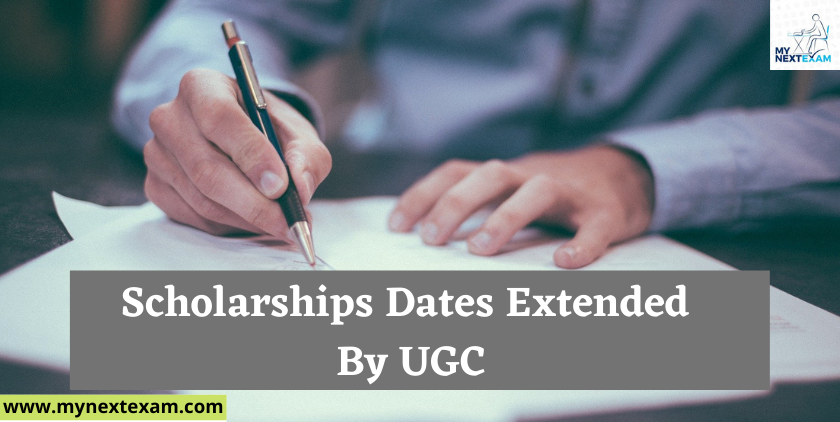 Announcement!! Application deadline for scholarships extended by UGC !! The new deadline, January 20