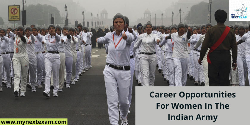 Career Opportunities For Women In The Indian Army