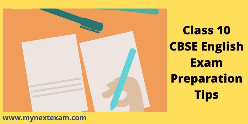 Class 10 CBSE English Exam Preparation Tips
