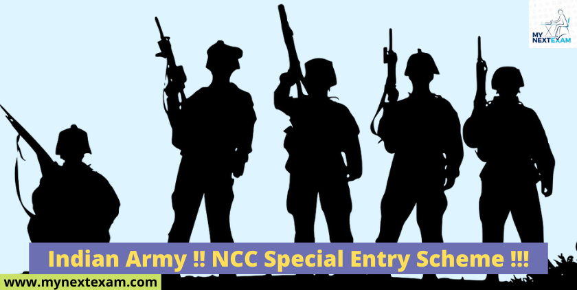 Indian Army !! NCC Special Entry Scheme !!!